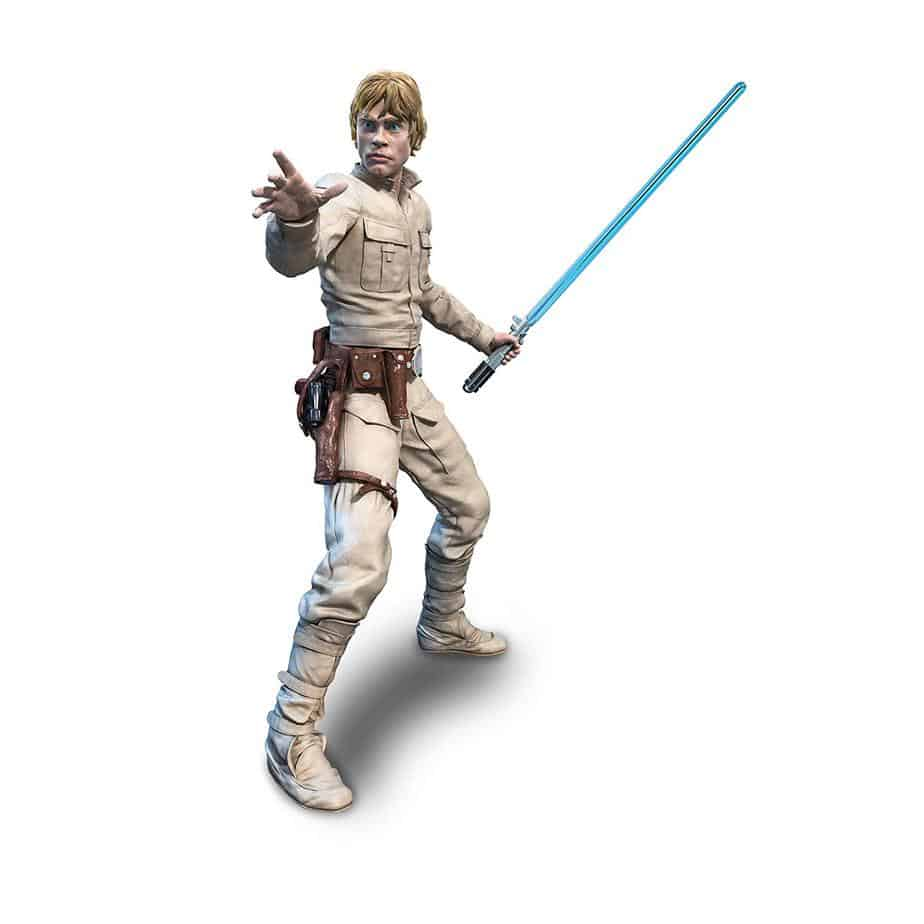 how to start an action figure collection with luke skywalker