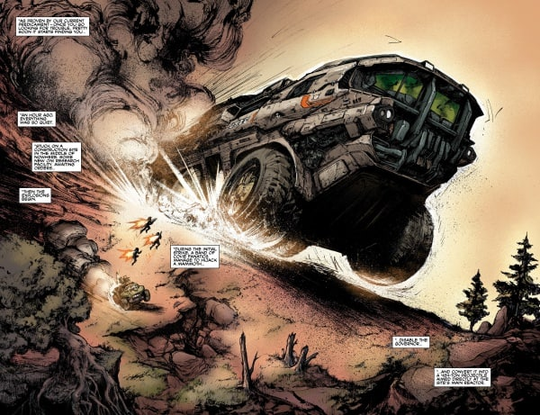 halo comics Tales from Slipspace