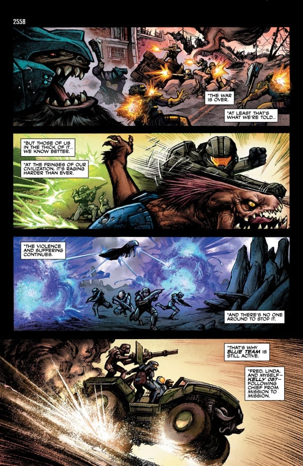 halo comics Tales from Slipspace page 38