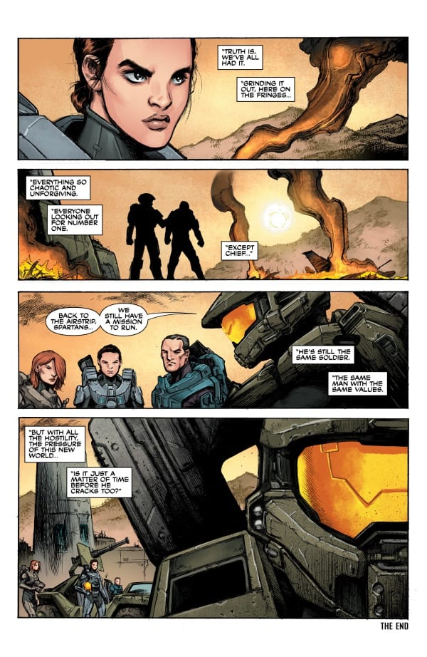 halo comics Tales from Slipspace page 48