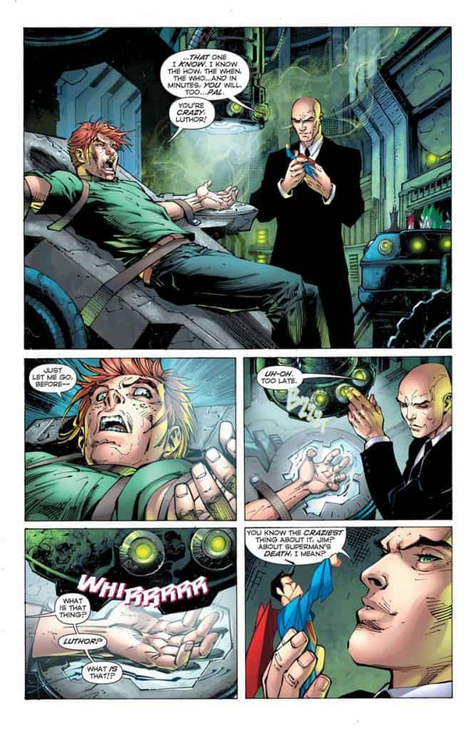 superman unchained lex luthor