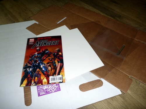 Comic Book Bags and Boards