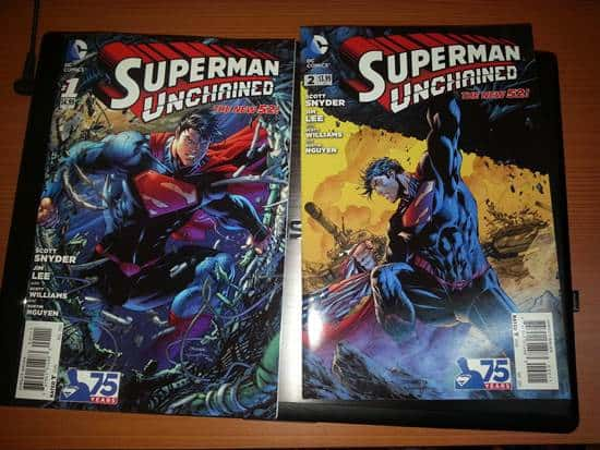 comic book collecting of superman unchained