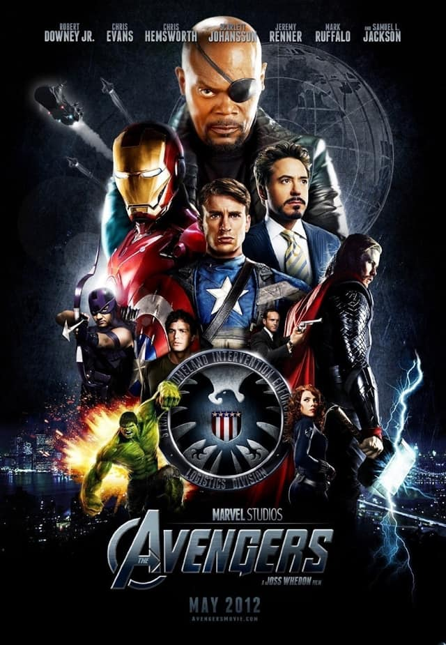 the avengers movie posted