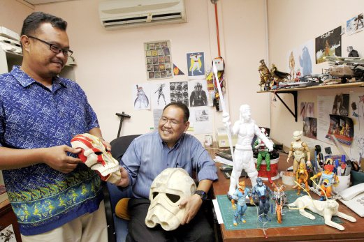 action figure making course