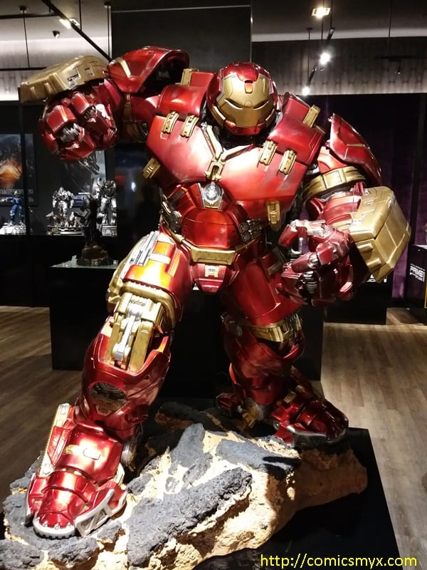 Shiok Toys eCurve hulkbuster iron man