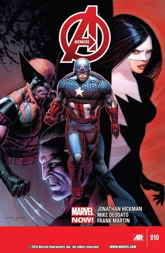 Marvel Now! Avengers #10 cover