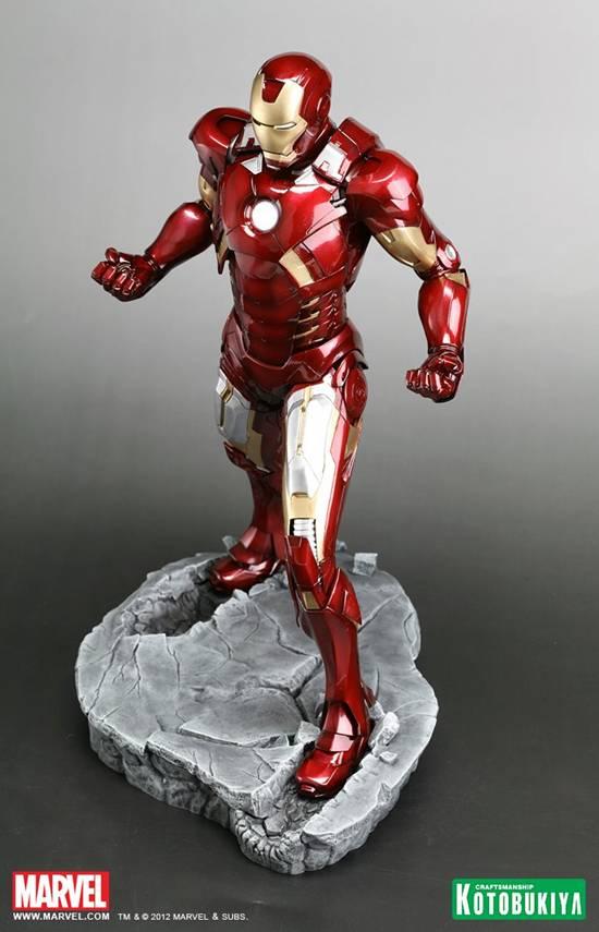 start an action figure collection with kotobukiya's iron man