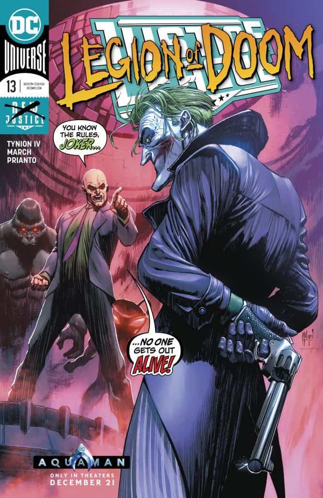 justice league 13 legion of doom