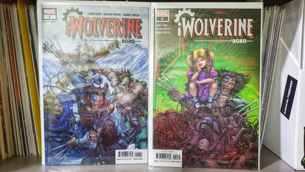 2020 iWolverine #1 and #2 side by side