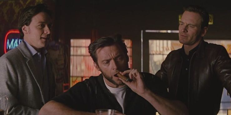 Wolverine movies - his cameo in X-Men: First Class (2011)