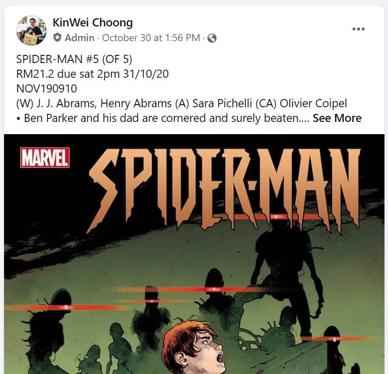 How to order comics from Malaysia Comics Alliance