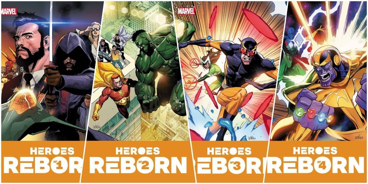 Reading Order For Heroes Reborn